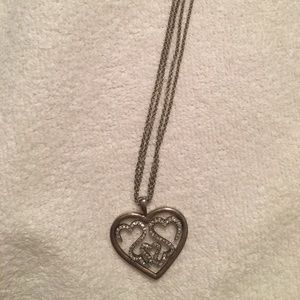 """Open heart"" collection necklace"